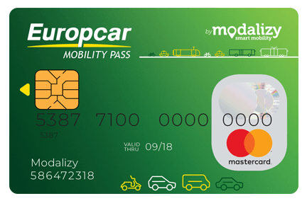 Carte Modalizy Pass